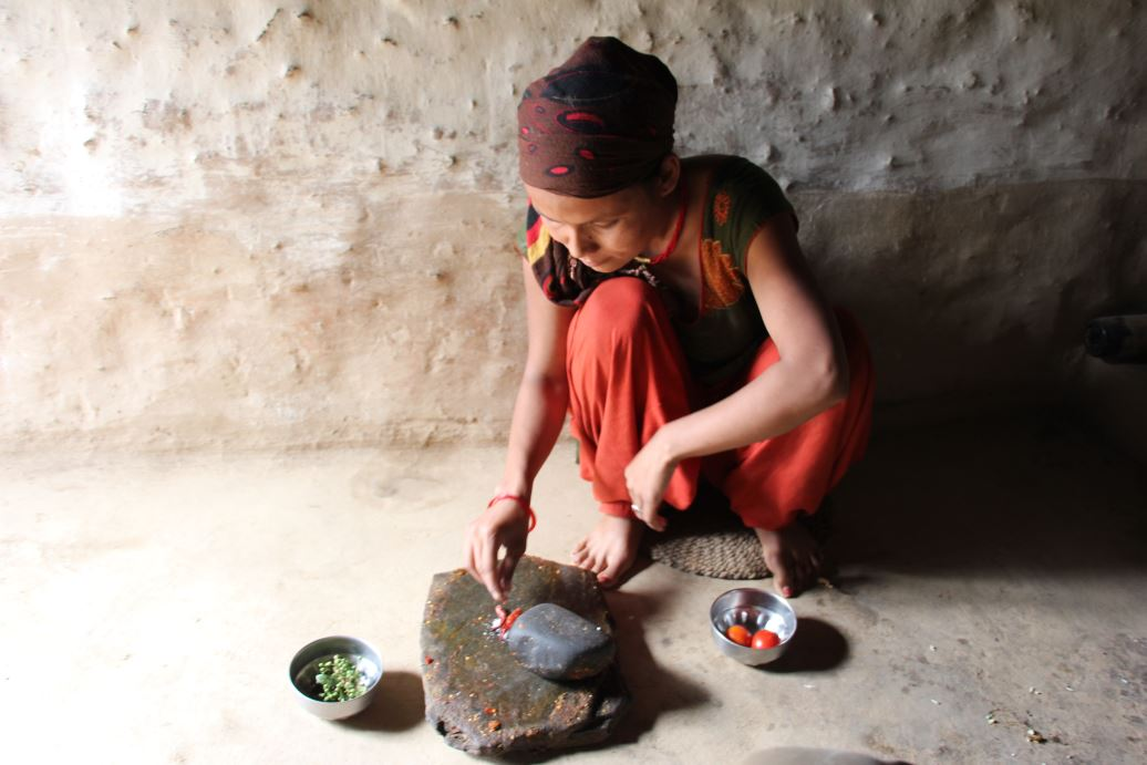 preparación cocina nepalesa
