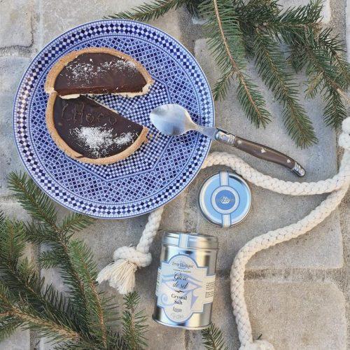 Givre de sel - tarte chocolat