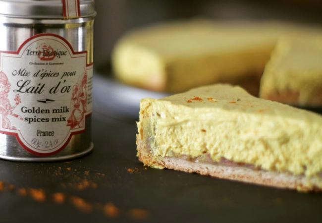 Cheesecake Golden Milk