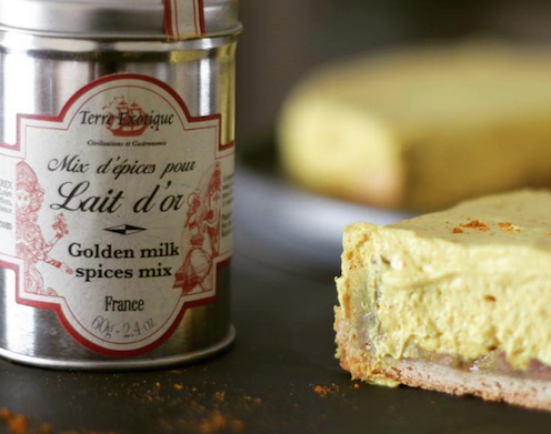 Cheesecake au Golden Milk