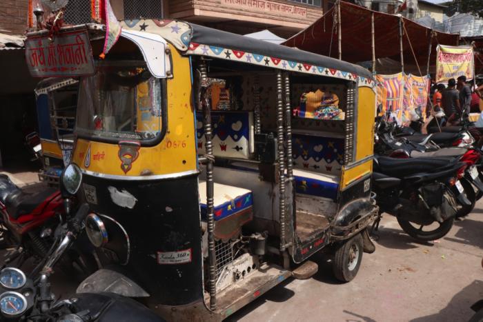 Rickshaw à moteur