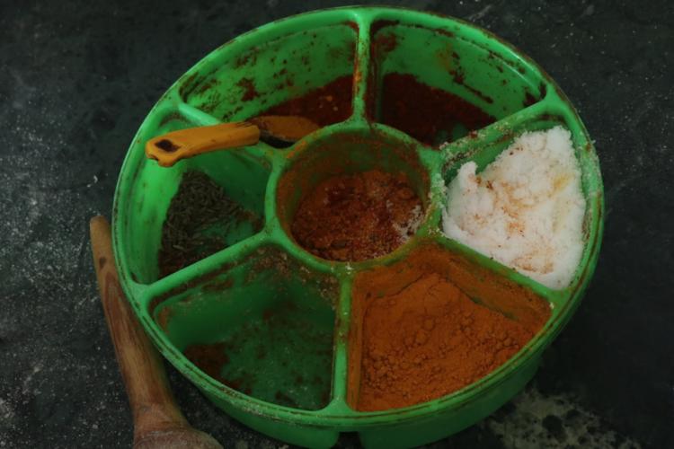 La palette du cuisinier inde