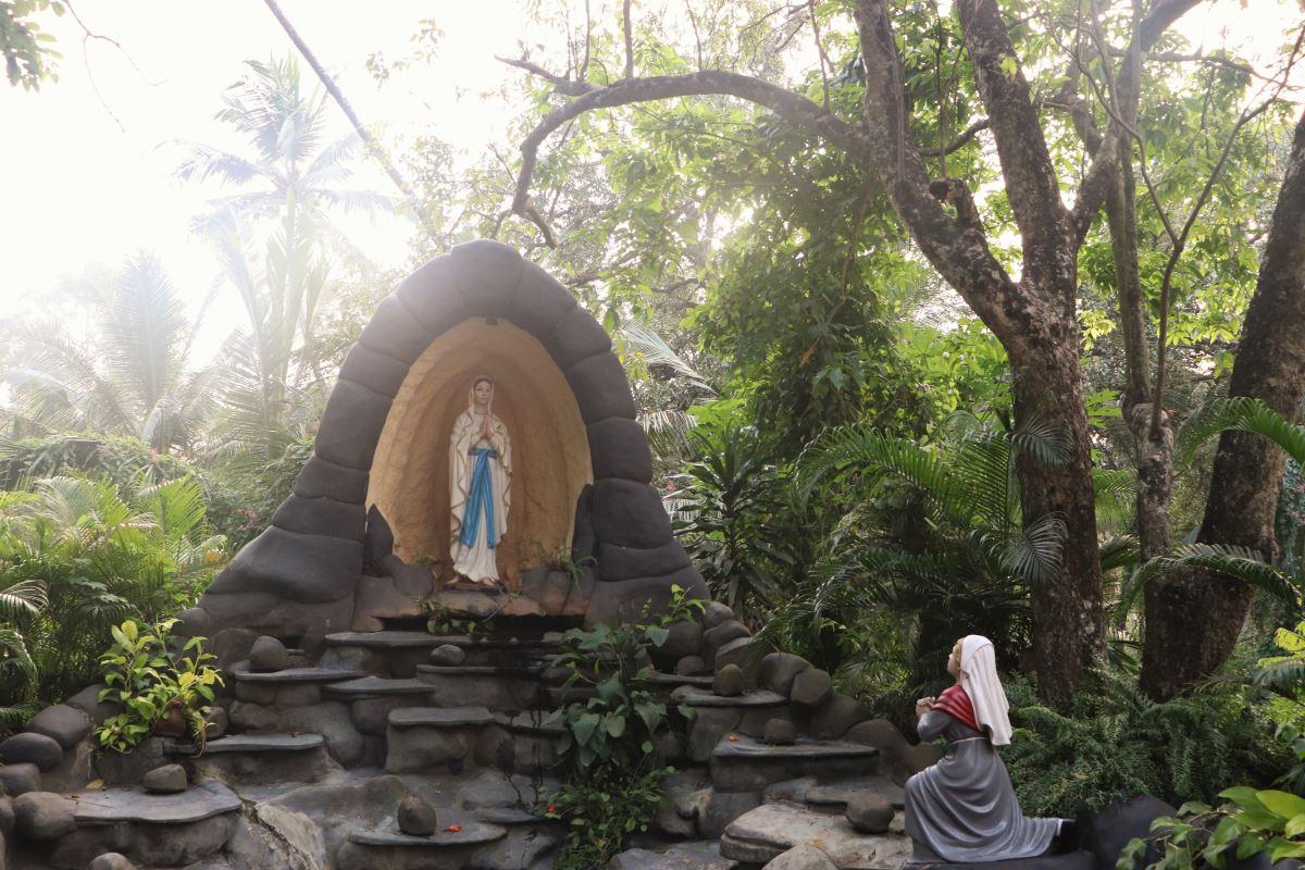 Goa Autel vierge Marie