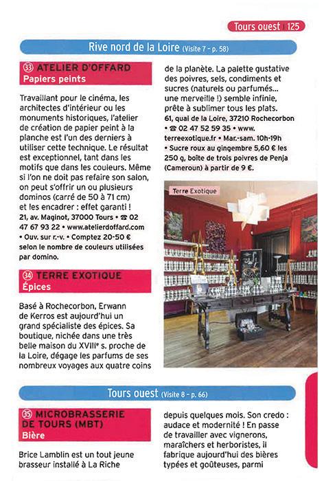 Guide touristique Tours