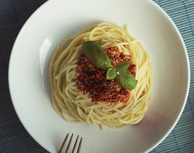 Spaghetti al arrabiata