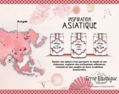 Inspiration culinaire Asiatique - Terre Exotique