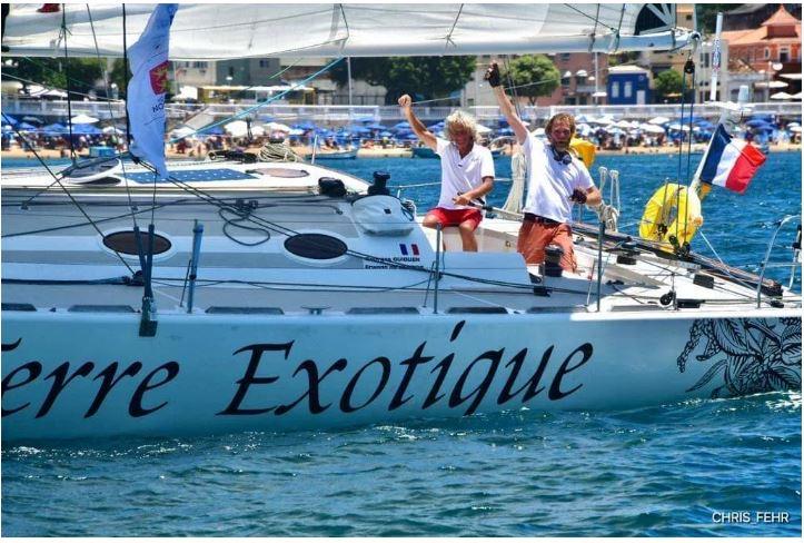 Transat Jacques Vabre arrivée Bahia