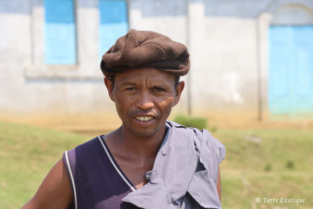 Portrait paysan malgache - Terre Exotique