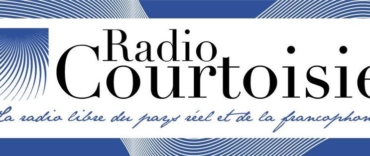 annonce du Festival des Poivres dans l'émission radio Courtoisie