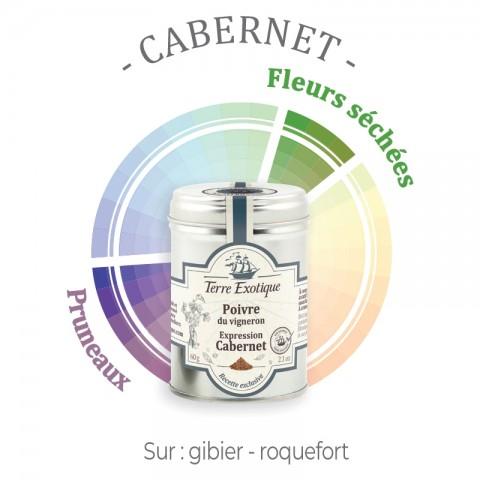 Poivre du vigneron : expression Cabernet - Terre Exotique